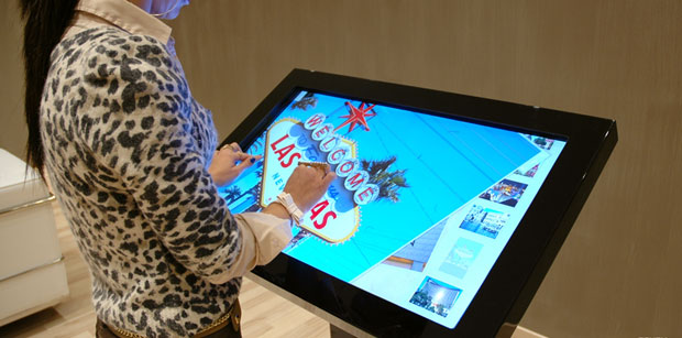 multi-touch screen glass