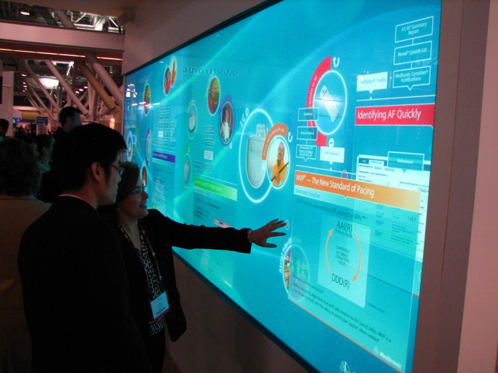 Multi Touch Video Wall