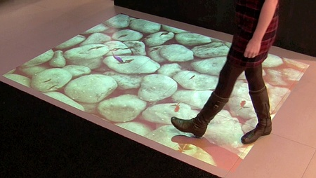 3d floor projection mapping to floor your man/gal this valentine's